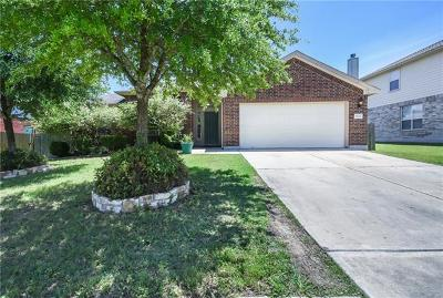 Round Rock Single Family Home For Sale: 19629 Cheyenne Valley