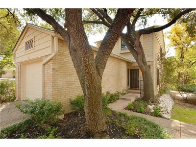 Austin Condo/Townhouse For Sale: 3421 Pecos St #1