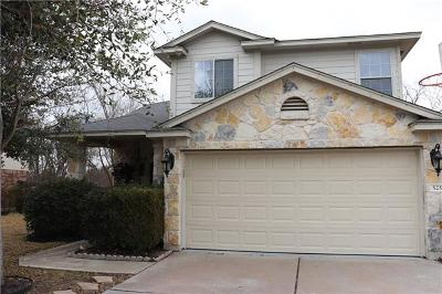 Round Rock Single Family Home For Sale: 525 Grey Feather Ct