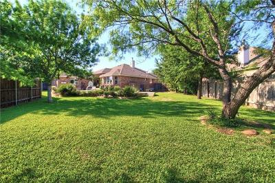 Leander Single Family Home For Sale: 2514 Grapevine Canyon Trl