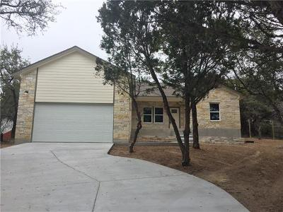 Lago Vista Single Family Home Pending - Taking Backups: 6115 Cimmaron Trl