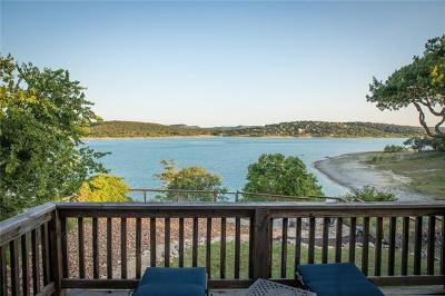 Canyon Lake Single Family Home Active Contingent: 1064 Lakebreeze Dr