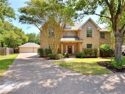 Austin Single Family Home For Sale: 8109 Crabtree Cv
