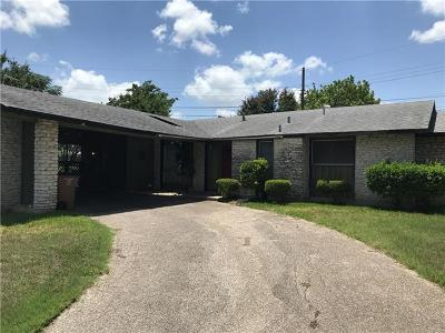 Austin Single Family Home For Sale: 2201 Cadiz Cir
