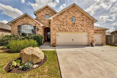 Spicewood Single Family Home For Sale: 22209 Verbena Pkwy
