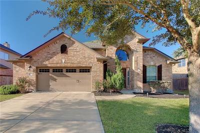 Pflugerville Single Family Home Active Contingent: 19512 Morgana Dr
