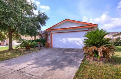 Del Valle Single Family Home Pending - Taking Backups: 12825 Noche Clara Dr