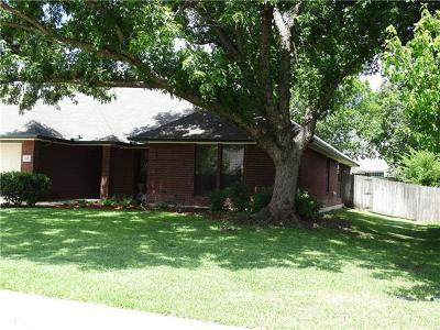 Harker Heights Single Family Home For Sale: 612 Man O War Dr