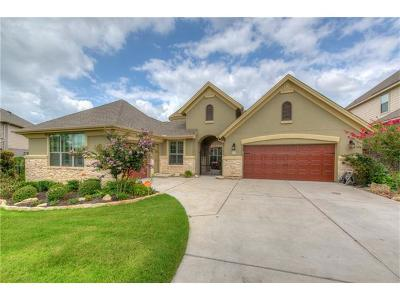 Leander Single Family Home Active Contingent: 2125 Peoria Dr
