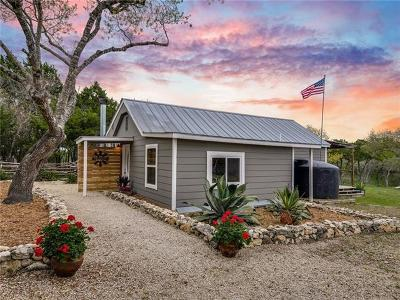 Wimberley Single Family Home For Sale: 1100 Valley View Rd