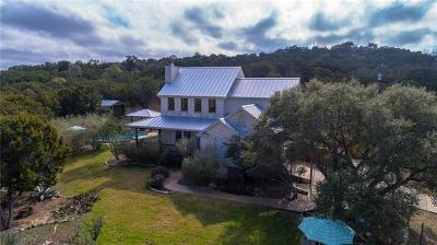 Hays County Single Family Home Pending - Taking Backups: 13701 Evergreen Way