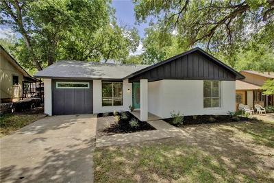 Austin Single Family Home For Sale: 5307 Village Trl