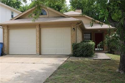 Pflugerville Single Family Home For Sale: 620 Smoke Signal Pass