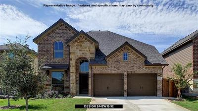 Liberty Hill Single Family Home For Sale: 425 Inspiration Dr