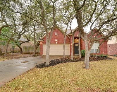 Cedar Park TX Single Family Home For Sale: $299,900