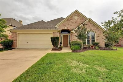 Manor Single Family Home Active Contingent: 13504 Windstone Ct