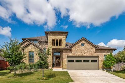 Georgetown Single Family Home For Sale: 4920 Scenic Lake Dr