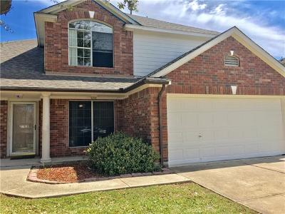 Round Rock Single Family Home Pending - Taking Backups: 629 Reggie Jackson Trl
