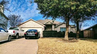Round Rock Single Family Home For Sale: 326 Hidden Brook Ln