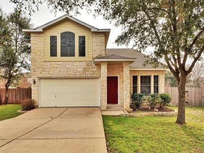 Round Rock Single Family Home For Sale: 507 Calcite Cv