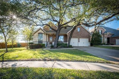 Round Rock Single Family Home For Sale: 3575 Alexandrite Way