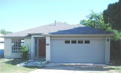 Pflugerville Single Family Home For Sale: 13908 Cambourne Dr