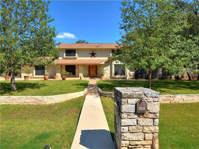 Round Rock Single Family Home Active Contingent: 3003 Elm Trl