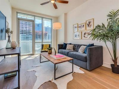 Austin Condo/Townhouse For Sale: 222 West Ave #1609