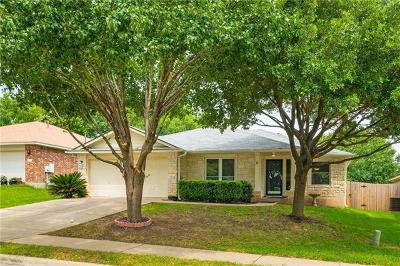 Round Rock Single Family Home For Sale: 2303 Vernell Way