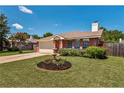 Round Rock Single Family Home Pending - Taking Backups: 2415 Wisteria Way