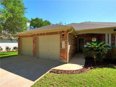 Cedar Park Single Family Home For Sale: 2810 Bluejay Dr