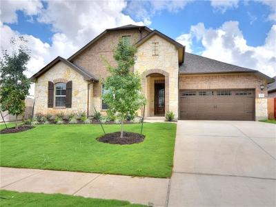 Round Rock Single Family Home For Sale: 715 Expedition Way