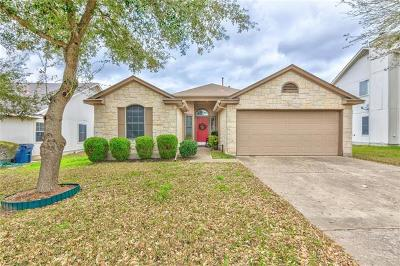 Hutto Single Family Home Pending - Taking Backups: 125 Dana Dr