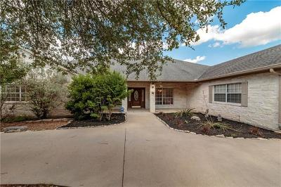 Leander Single Family Home Pending - Taking Backups: 13205 N Ridge Cir
