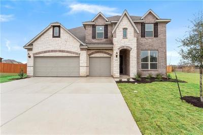 Round Rock Single Family Home For Sale: 6654 Casiano Cv