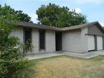 Austin Single Family Home For Sale: 5514 Peppertree Pkwy