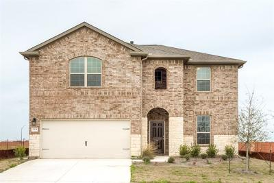 Georgetown Single Family Home For Sale: 5304 Vanner Path