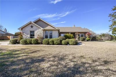 Liberty Hill Single Family Home For Sale: 600 Speed Horse