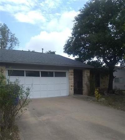 Cedar Park Single Family Home For Sale: 709 Chestnut Xing