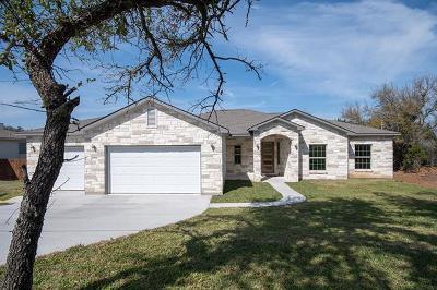 Lago Vista Single Family Home For Sale: 4214 Rimrock Ct