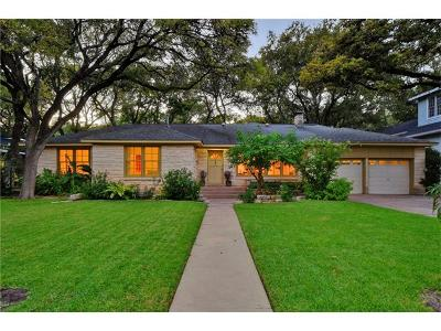 Travis County Single Family Home Pending - Taking Backups: 2000 Mountain View Rd