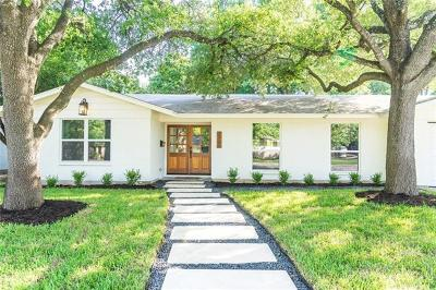 Single Family Home Pending - Taking Backups: 7706 Shoal Creek Blvd