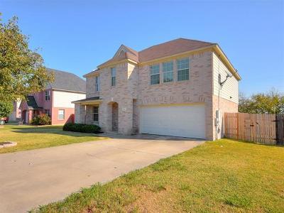 Round Rock Single Family Home For Sale: 20313 Dark Tree Cv
