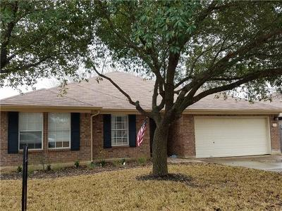 Round Rock Single Family Home Pending - Taking Backups: 1411 Pigeon View St