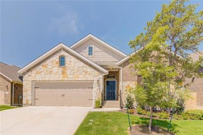 Leander Single Family Home Active Contingent: 621 Peregrine Way
