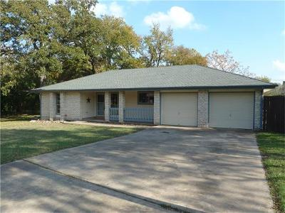 Georgetown Single Family Home Pending - Taking Backups: 408 Golden Oaks Dr