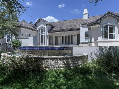 Lakeway Single Family Home For Sale: 13 Club Estates Pkwy