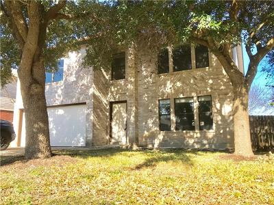 Pflugerville Single Family Home For Sale: 912 Justeford Dr