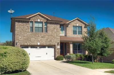 Hutto Single Family Home For Sale: 1005 Glasgow Cv