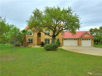 Spicewood Single Family Home For Sale: 200 Kendall Dr